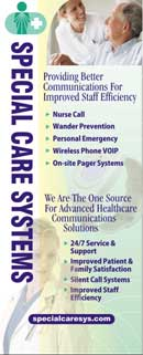 Special Care Systems display created by Wirlo Associates